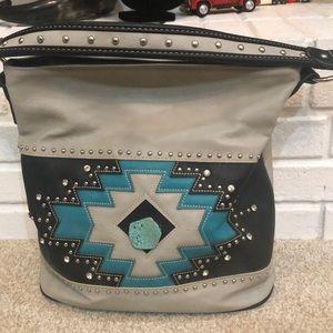 Montana West large Leather purse  👜